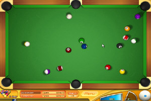 旋转台球(Backspin Billiards) V1.0